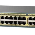 CISCO WS-C2960X-24PD-L CAT. 2960-X 24 GIGE POE 370W 2X10G SFP+ LAN BASE