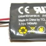 PLANTRONICS 86180-01 SPARE BATTERY CS 540