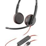 PLANTRONICS 209747-101 BLACKWIRE,C3225 USB-A