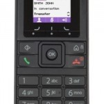 ALCATEL-LUCE 3BN67330AB 8232S DECT HANDSET CONTAINS BATTERY AND BELT CLIP