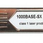 ALCATEL-LUCE SFP-GIG-SX 1000BASE-SX GIGA ETH OPTICAL TRANSCEIVER  SFP MSA
