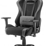 SHARKOON SKILLER SGS2 BLACK GAMING SEAT FABRIC CLASS-4 GASLIFT3D ARMREST 60MM
