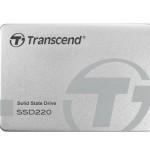 TRANSCEND TS240GSSD220S 240GB, 2.5  SSD220S, SATA3, TLC, ALUMINUM CASE
