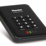 HAMLET HEXD25U3KK BOX 2 5  USB 3.0 SEC.CRIPTATO CON PW 4-12 DIGIT