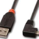 LINDY LINDY31977 CAVO USB 2.0 TIPO A MICRO-B 90GRADI 2M