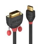 LINDY LINDY36272 CAVO HDMI A DVI-D BLACK LINE, 2M