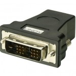 LINDY LINDY41228 ADATTATORE HDMI DVI-D F M