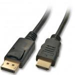 LINDY LINDY41480 CAVO DISPLAYPORT/HDMI 1M