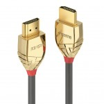 LINDY LINDY37860 CAVO HDMI HIGH SPEED GOLD LINE, 0.5M