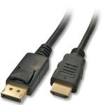 LINDY LINDY41481 CAVO DISPLAYPORT/HDMI 2M