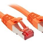 LINDY LINDY47809 CAVO CAT.6 S/FTP ARANCIONE, 2M