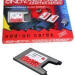 LINDY LINDY70952 ADATT. COMPACT FLASH A PCMCIA