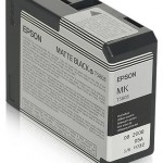 EPSON C13T580800 TANICA INCHIOSTRO ULTRACHROME K3 NERO MATTE 80ML