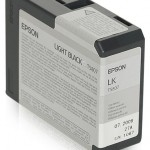 EPSON C13T580700 TANICA INCHIOSTRO ULTRACHROME K3 NERO LIGHT 80ML