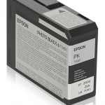 EPSON C13T580100 TANICA INCHIOSTRO NERO-FOTO ULTRACHROME K3  80 ML