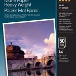 EPSON C13S041256 CARTA SPECIALE OPACA MATTE ALTO SPESSORE A4 50FG