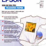 EPSON C13S041154 CARTA IRON-ON-TRANSFER A4 STAMPA SU TESSUTO 10FG