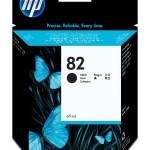 HP INC. CH565A HP 82 BLACK INK CARTRIDGE