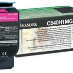 LEXMARK C540H1MG TONER LEXMARK MAGENTA PER C54X X54X 2K