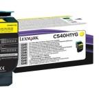 LEXMARK C540H1YG TONER LEXMARK GIALLO PER C54X X54X  2K