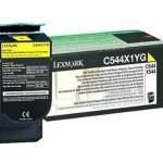 LEXMARK C544X1YG TONER LEXMARK GIALLO PER C544 X544 DA 4K