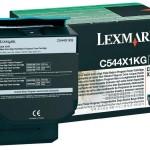 LEXMARK C544X1KG TONER LEXMARK NERO PER C544 X544 DA 6K