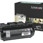 TONER LEXMARK PER X644 X646 DA 10K