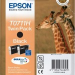 EPSON C13T07114H10 TWINPACK 2 CARTUCCE 7011H GIRAFFE