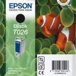 EPSON C13T02640110 CARTUCCIA INCHIOSTRO NERO STYLPH 810 830 925 935