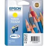 EPSON C13T03244010 CARTUCCIA INCHIOSTRO A PIGMENTI GIALLO DURABRITE