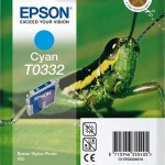EPSON C13T03324010 CARTUCCIA INCHIOSTRO CIANO STYLUS PHOTO 950