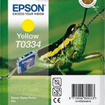 EPSON C13T03344010 CARTUCCIA INCHIOSTRO GIALLO STYLUS PHOTO 950