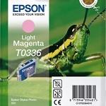 EPSON C13T03364010 CARTUCCIA MAGENTA-CHIARO 17ML T0336 CAVALLETTA
