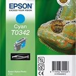 EPSON C13T03424010 CARTUCCIA T0342 CAMALEONTE 170 ML CIANO