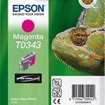 EPSON C13T03434010 CARTUCCIA T0343 CAMALEONTE 170 ML MAGENTA
