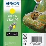 EPSON C13T03444010 CARTUCCIA T0344 CAMALEONTE 170 ML GIALLO