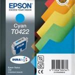 EPSON C13T04224010 CARTUCCIA T0422 RACCOGLITORI  160 ML CIANO