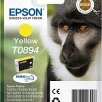 EPSON C13T08944011 CARTUCCIA ULTRA T0894 SCIMMIA  35 ML GIALLO