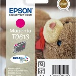 EPSON C13T06134010 CARTUCCIA ULTRA T0613 ORSETTO 8ML MAGENTA