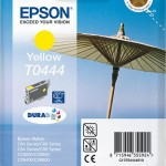 EPSON C13T04444010 CARTUCCIA T0444 OMBRELLONE  130 ML GIALLO
