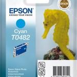 EPSON C13T04824010 CARTUCCIA T0482 CAVALLUCCIO MARINO  130 ML CIANO