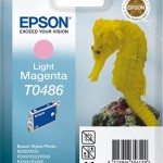 EPSON C13T04864010 CARTUCCIA T0486 CAVALLUCCIO MARINO MAGENTA CHIARO