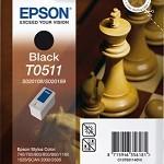 CARTUCCIA SERIE T0511 SCACCHI 240 ML NERO