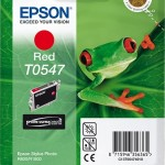EPSON C13T05474010 CARTUCCIA ULTRACHROME  T0547 RANA  130 ML ROSSO