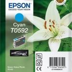 EPSON C13T05924010 CARTUCCIA K3 T0592 GIGLIO  130 ML CIANO