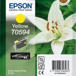 EPSON C13T05944010 CARTUCCIA K3 T0594 GIGLIO  130 ML GIALLO