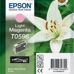 EPSON C13T05964010 CARTUCCIA K3 T0596 GIGLIO 130 ML MAGENTA CHIARO