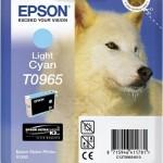 EPSON C13T09654010 CARTUCCIA SERIE T0965 HUSKY CIANO CHIARO