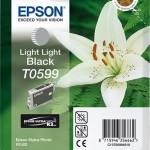 EPSON C13T05994010 CARTUCCIA K3 T0599 GIGLIO 130 ML NERO LIGHT LIGHT