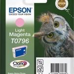 EPSON C13T07964010 CARTUCCIA CLARIA PHOTO T0796 GUFO MAGENTA CHIARO